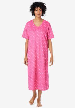 Long Print Sleepshirt , SWEETBERRY DOT