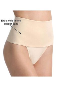Soft Shaping Wide Band Thong,
