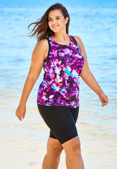 Longer Length Tankini Top ,