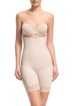 Sensual Secret High Waist Mid Thigh Short,