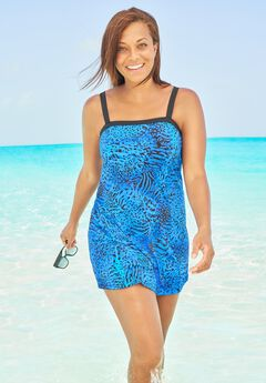Banded Swim Dress ,