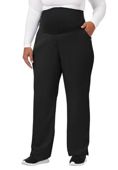 Jockey Scrubs Women's Ultimate Maternity Pant, BLACK