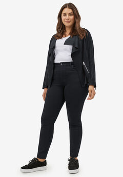 High-Waist Skinny Jeans,