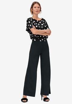 Wide Leg Soft Pants,