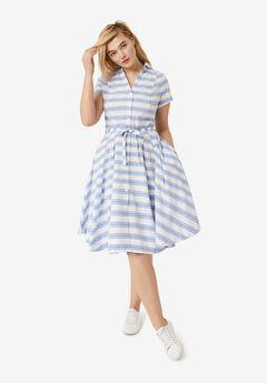 Sandy Shirtwaist Dress,