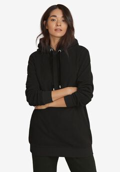 Hooded Fleece Lounge Tunic,