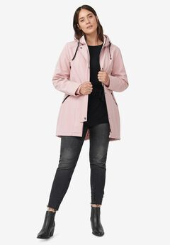 Bonded High-Low Jacket,