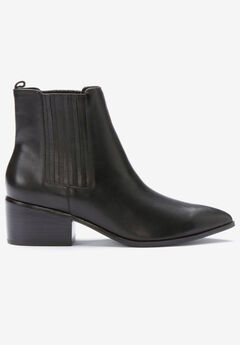 Leather Chelsea Bootie,