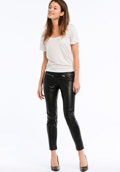 Skinny Leather Pants,
