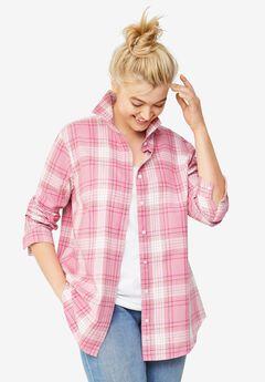 Plaid Flannel Shirt,