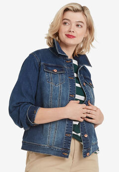 Classic Denim Jacket, MEDIUM STONEWASH