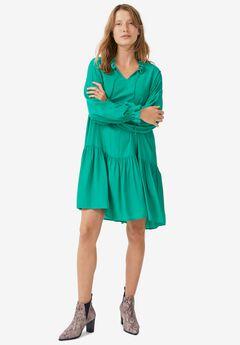 Drop-Waist Dress,