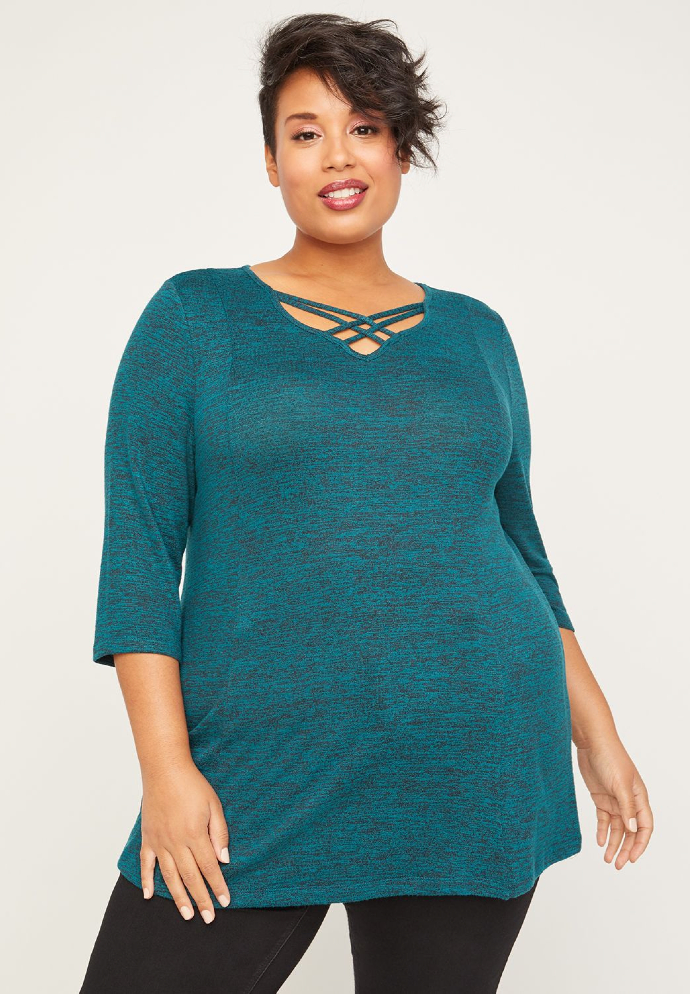 ComfySoft Crisscross Tunic,