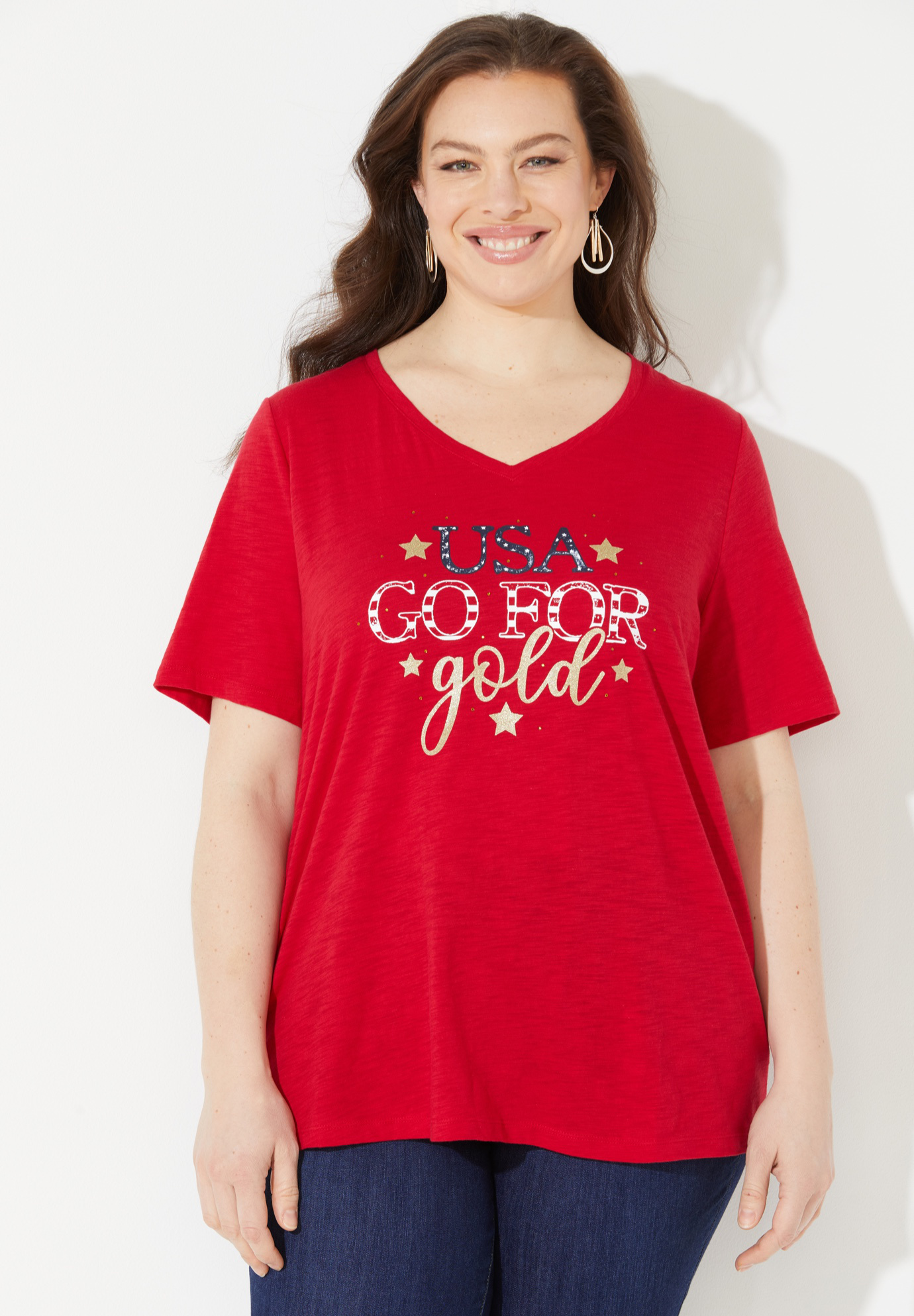 Go For Gold Tee,