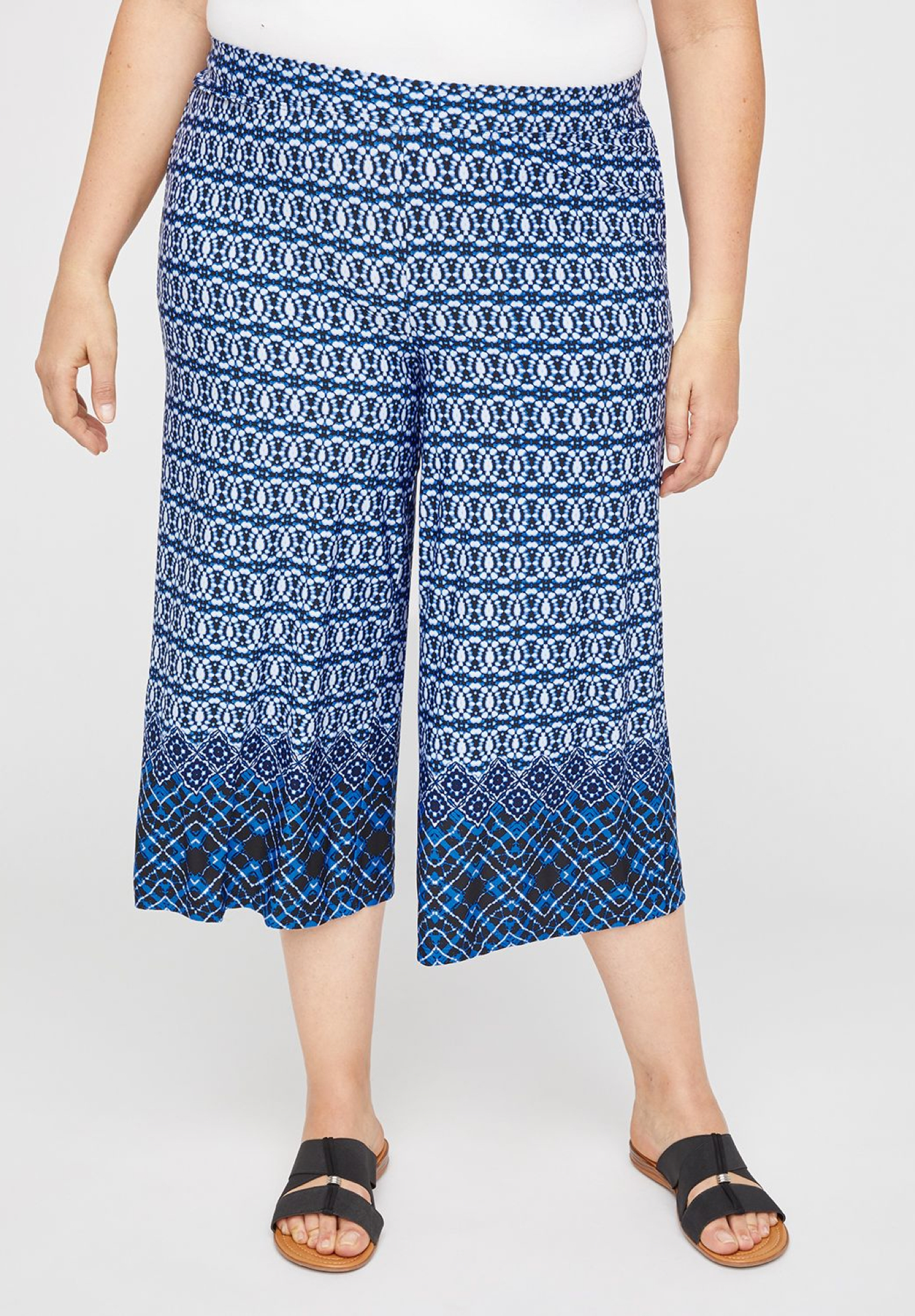 AnyWear Sonoma Wide Leg Capri,