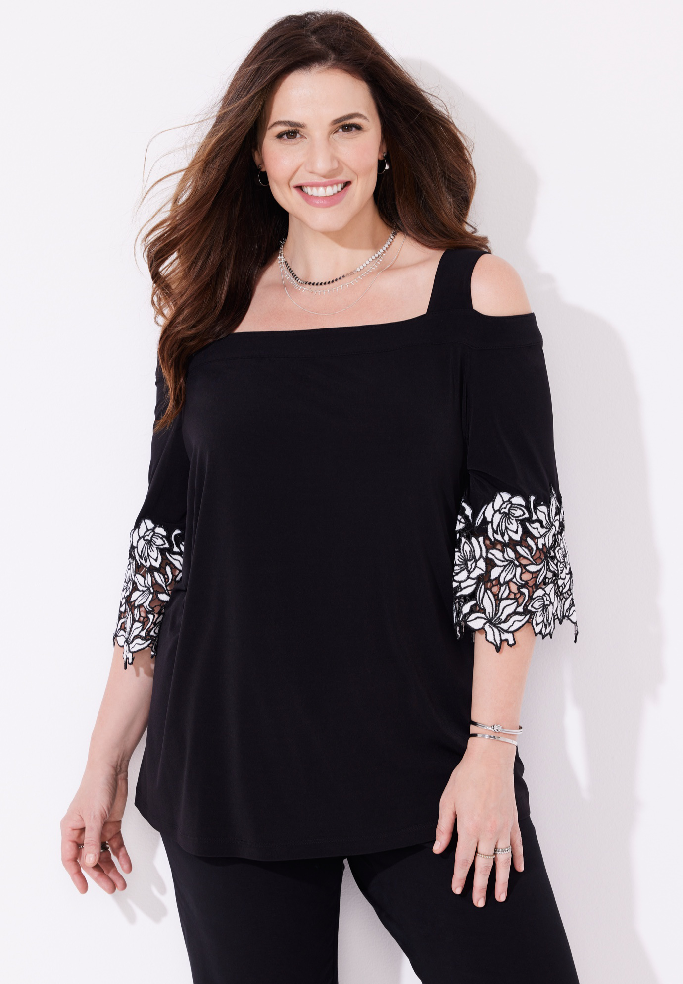 Modern Lace Top,