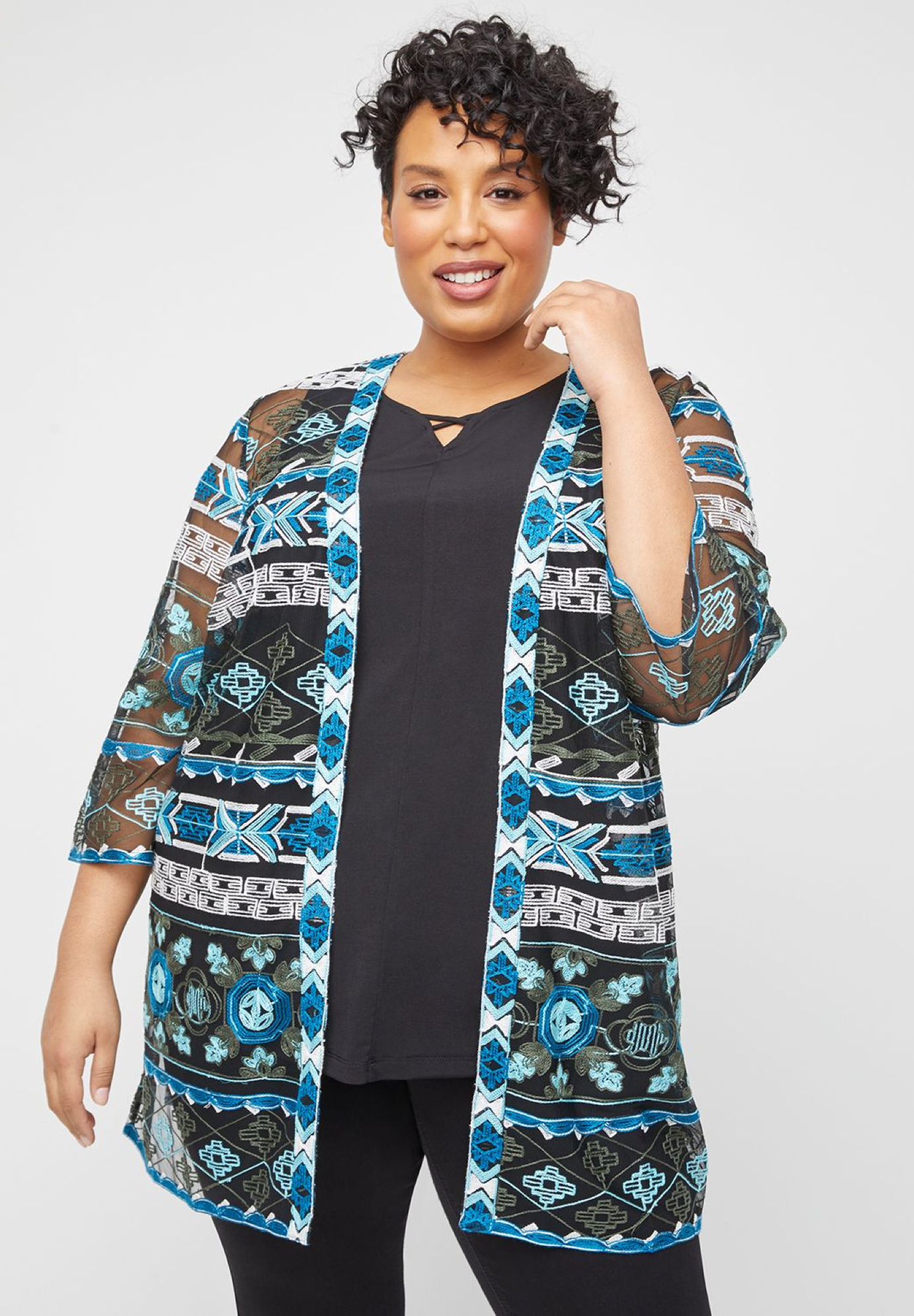 Embroidered Everest Overpiece,