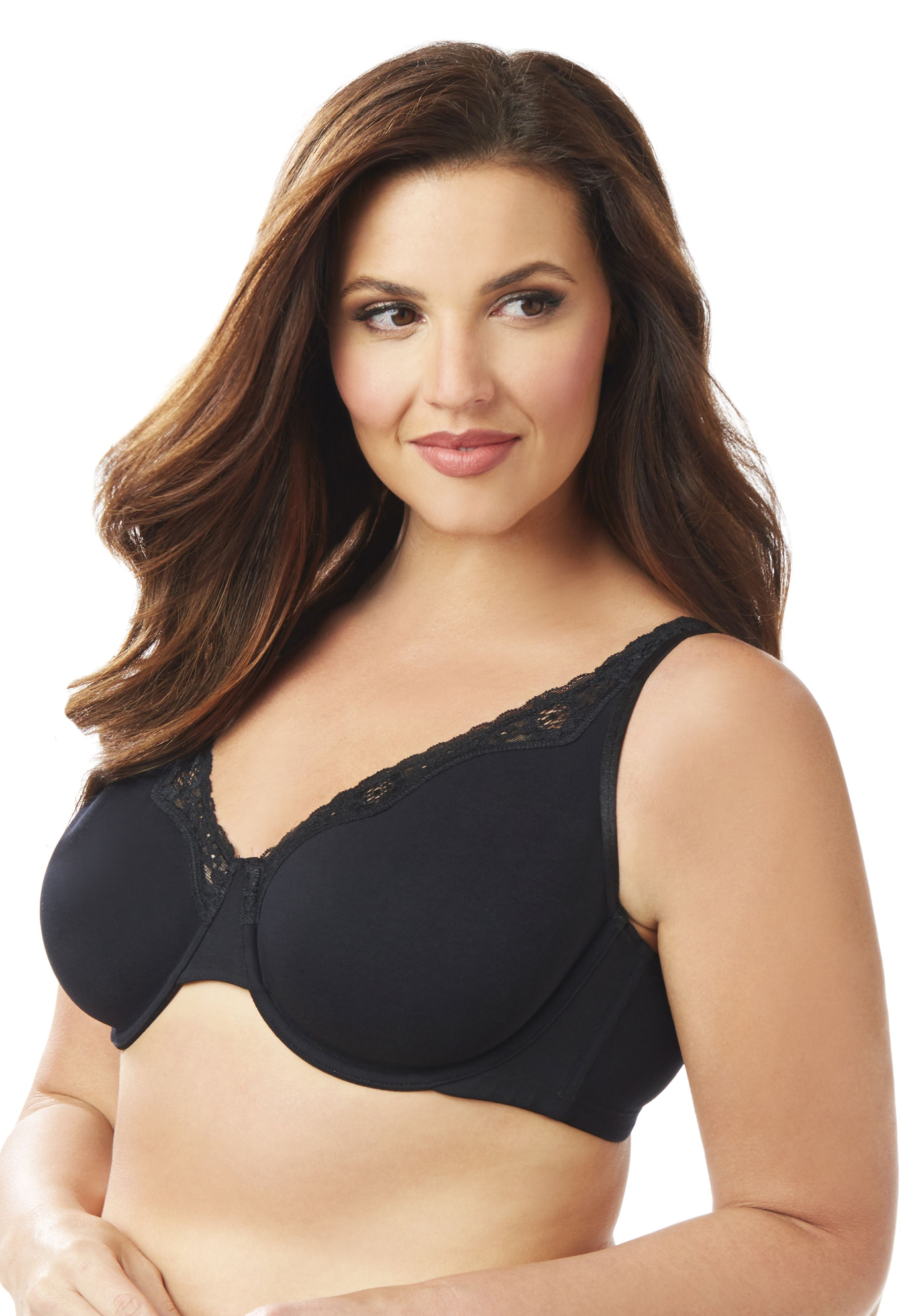 Underwire Cotton Comfort Bra,