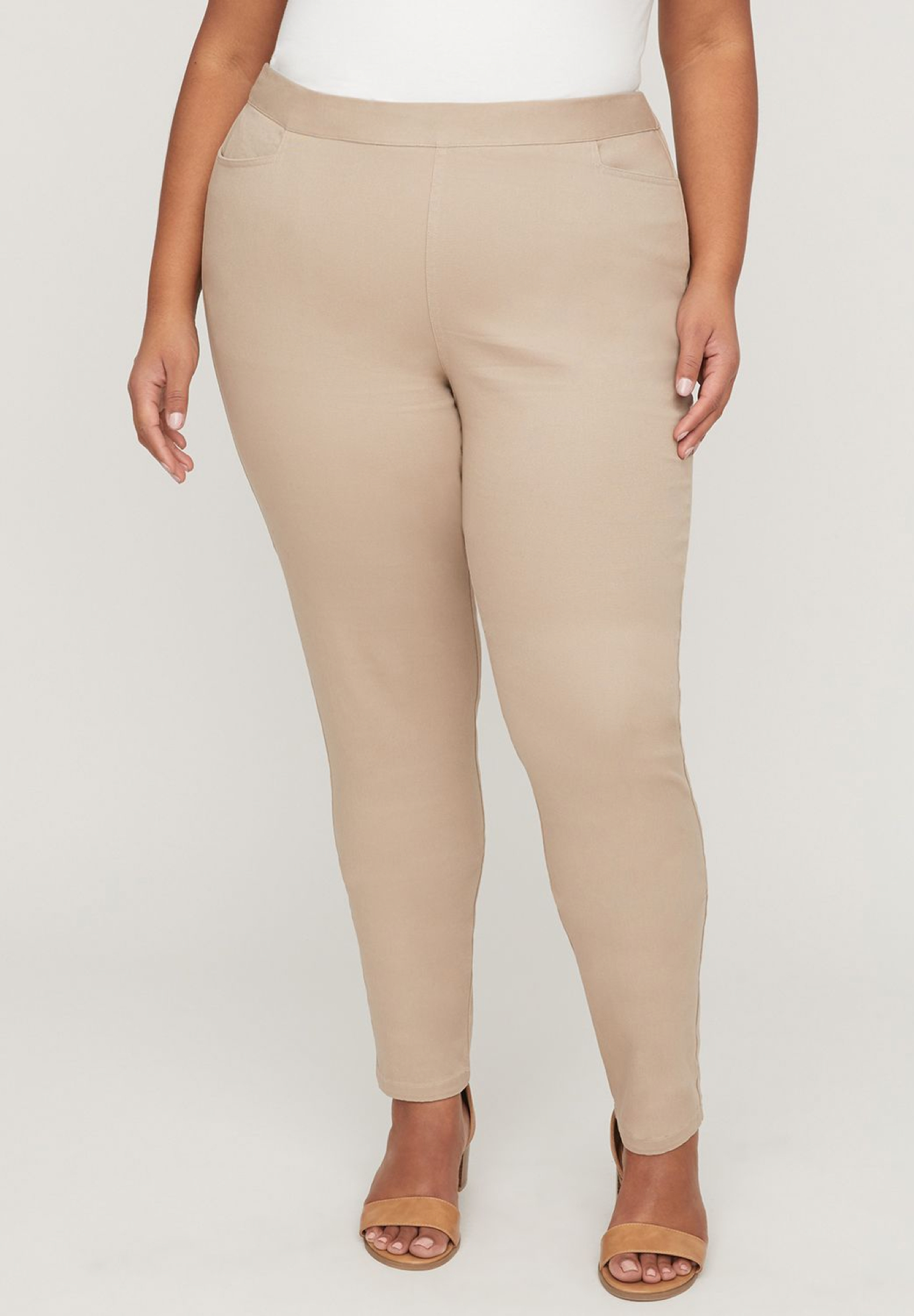 Essential Flat Front Twill Pant,