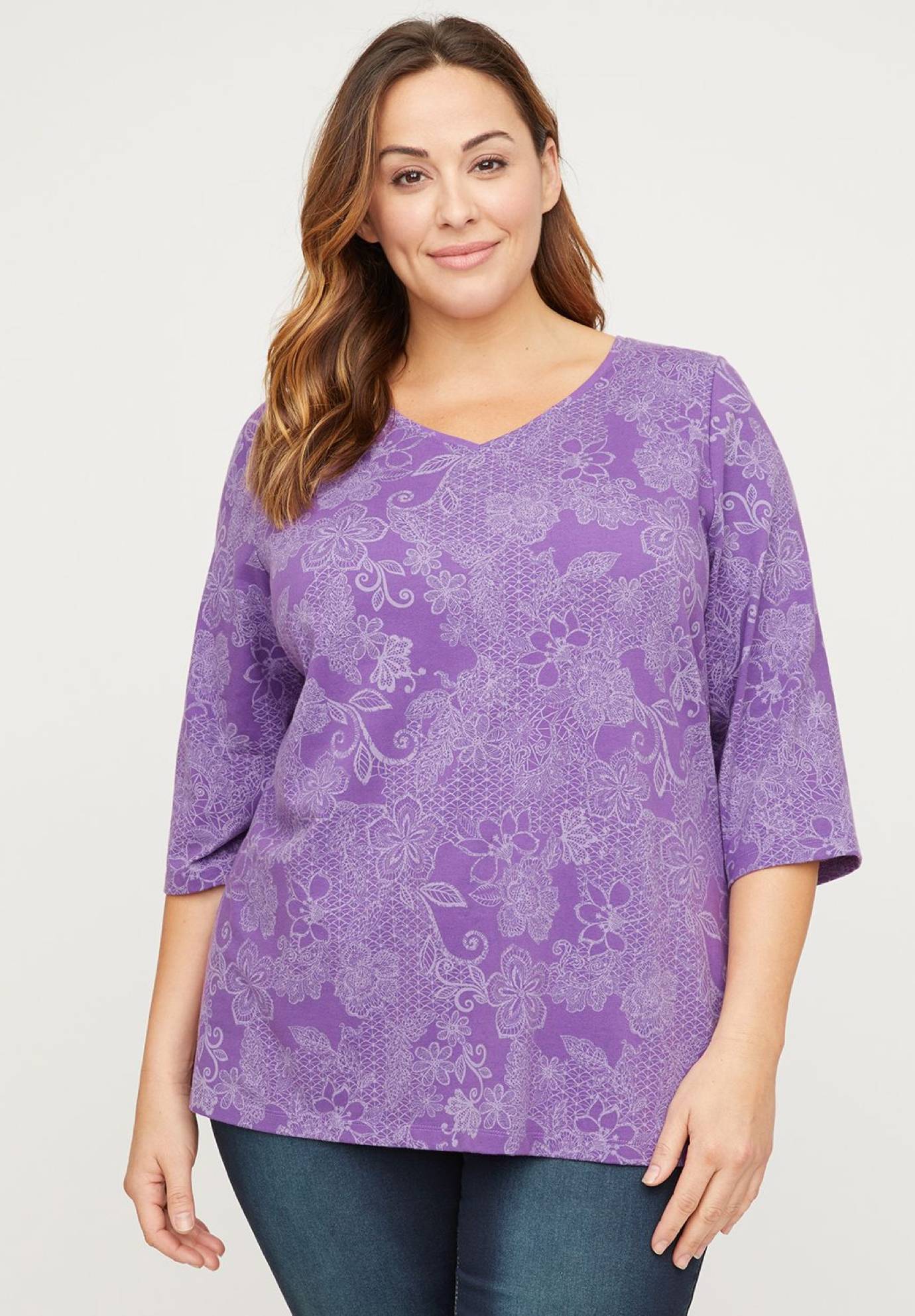 Flowering Lace Top,