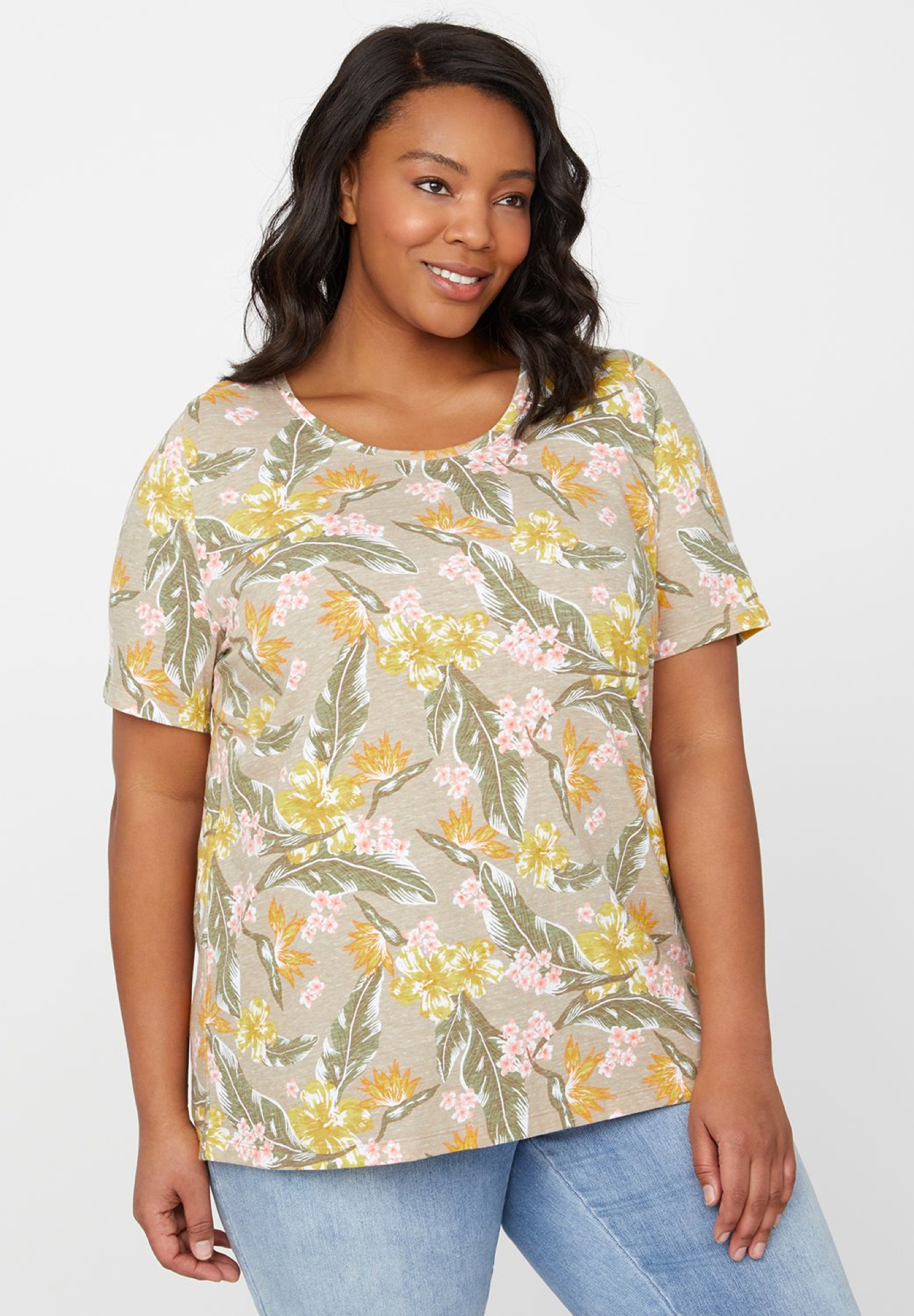 Soft Bloom Top,