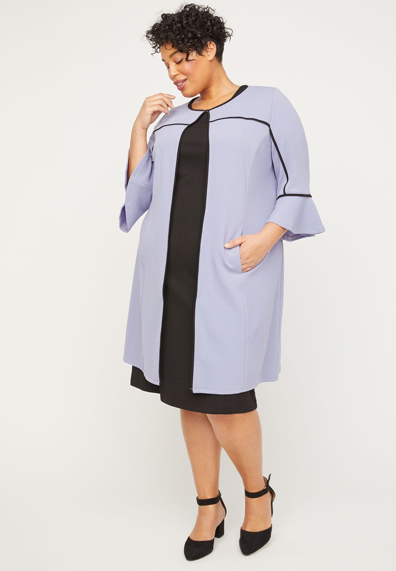 Afternoon Light Jacket Dress,