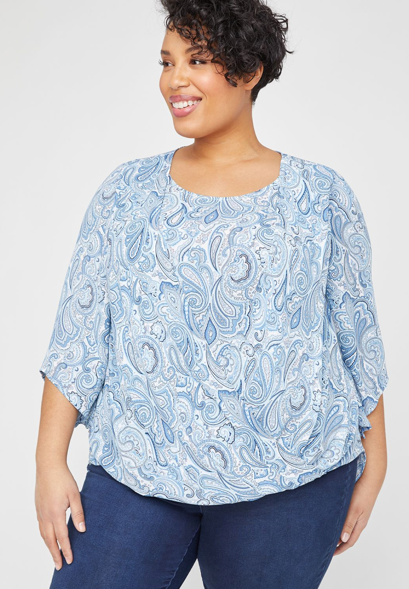 Meadowland Paisley Duet Top,
