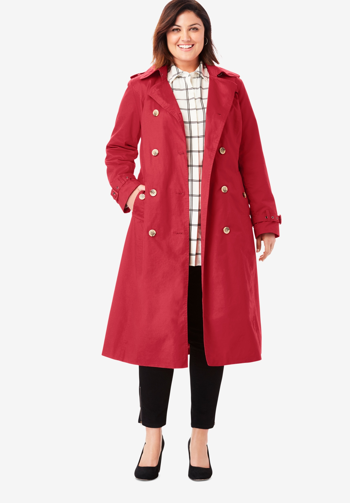 Long Trench Coat,