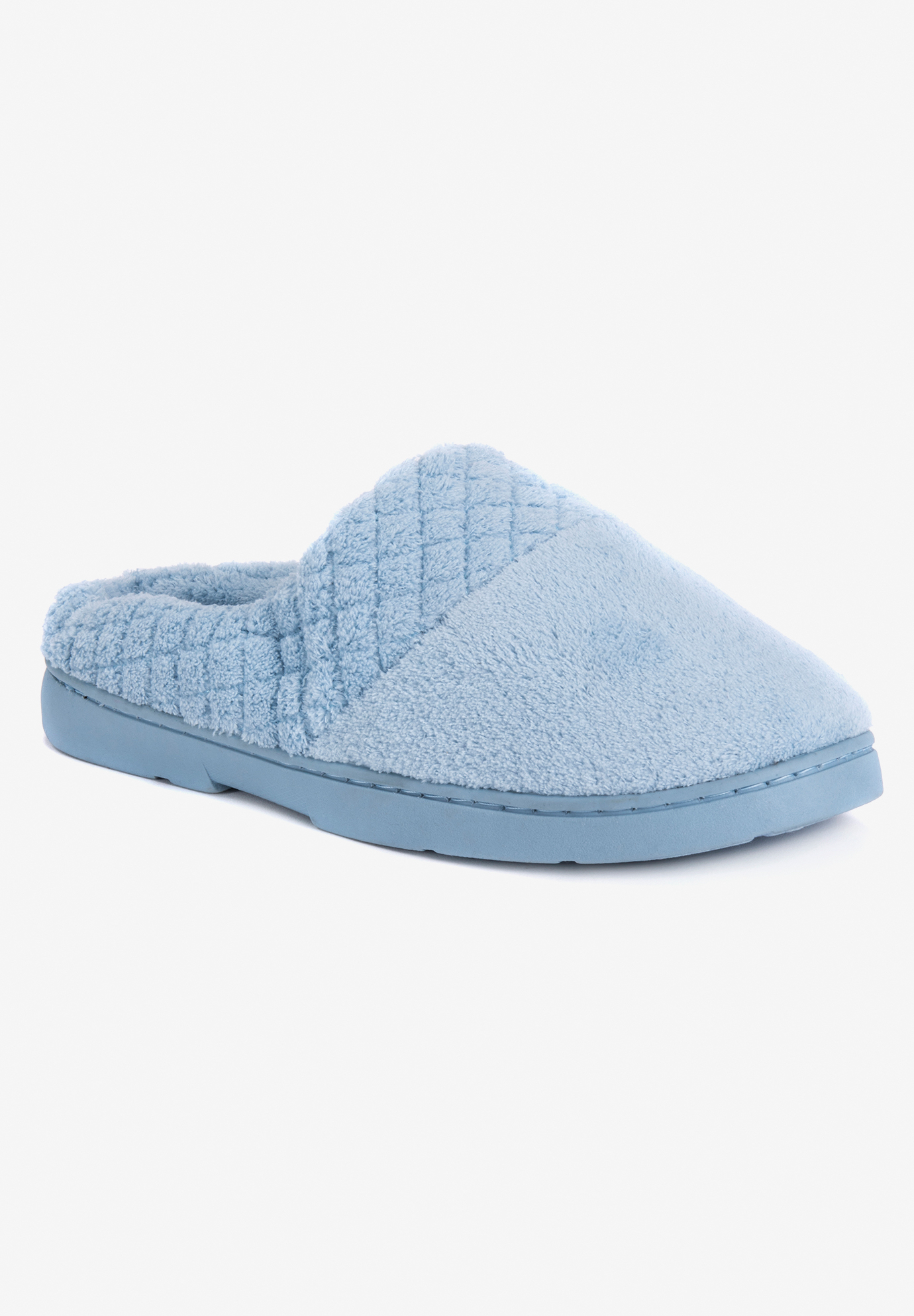 Quilted Clog Slippers,