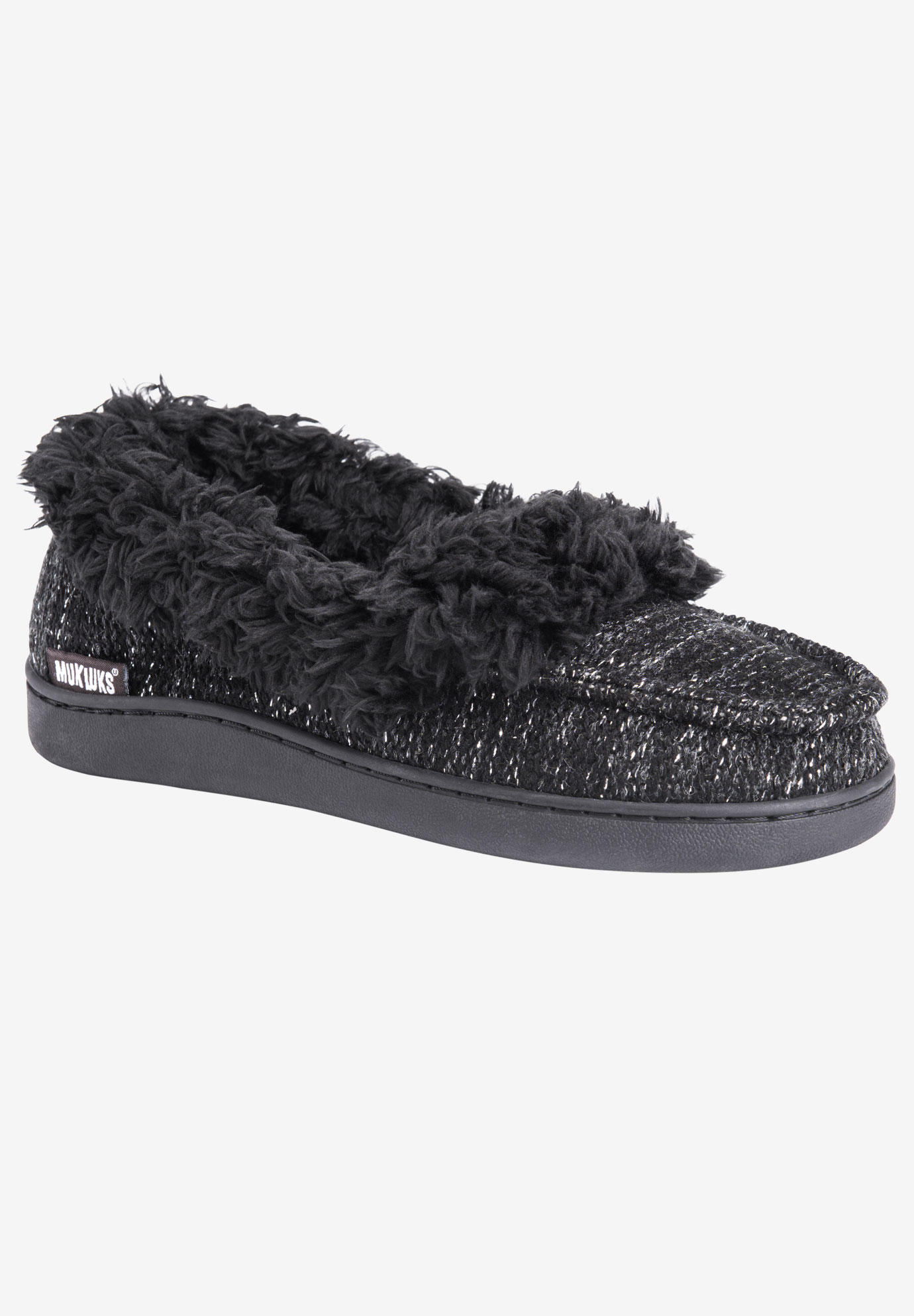 Anais Moccasin Slipper by Muk Luks,