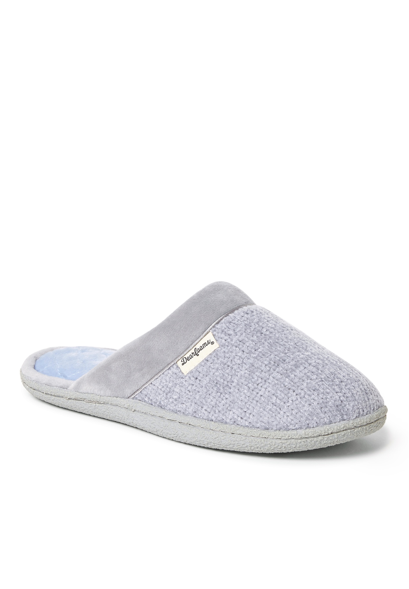 Stephanie Knit Closed Toe Scuff ,