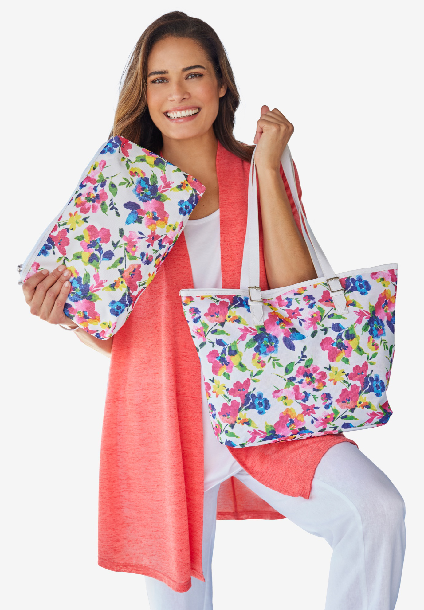 2-Piece Bag & Wristlet Set,