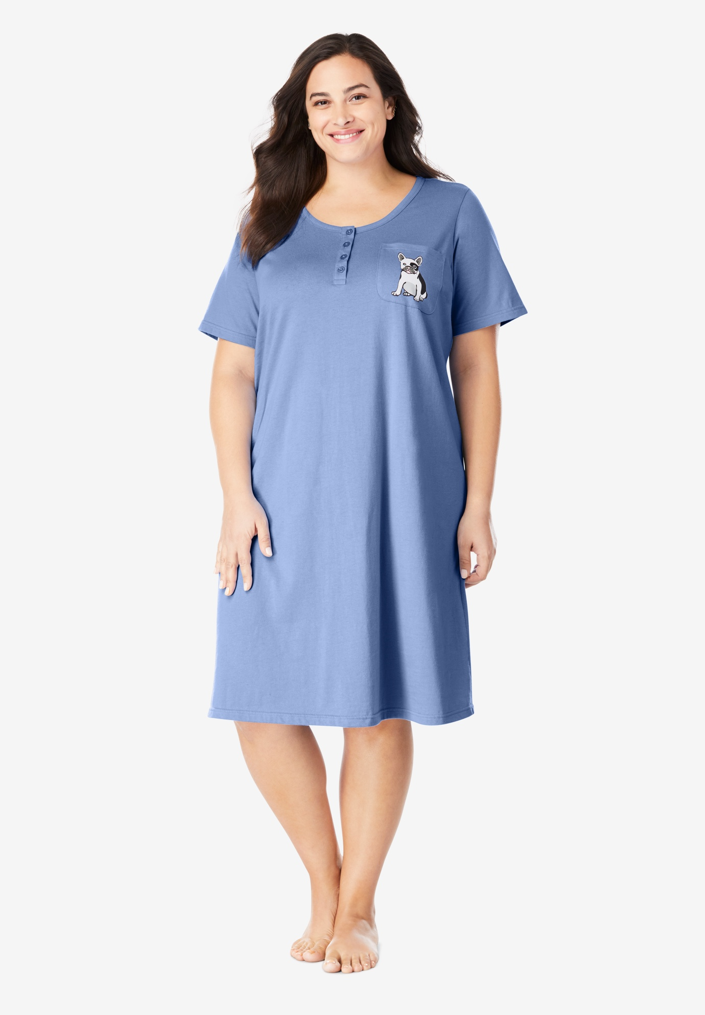 Cotton Sleepshirt ,
