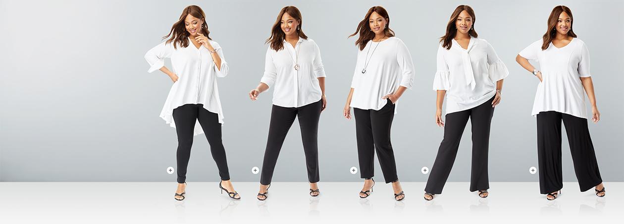 Pants Perfect. Shop Pants by Leg Opening.