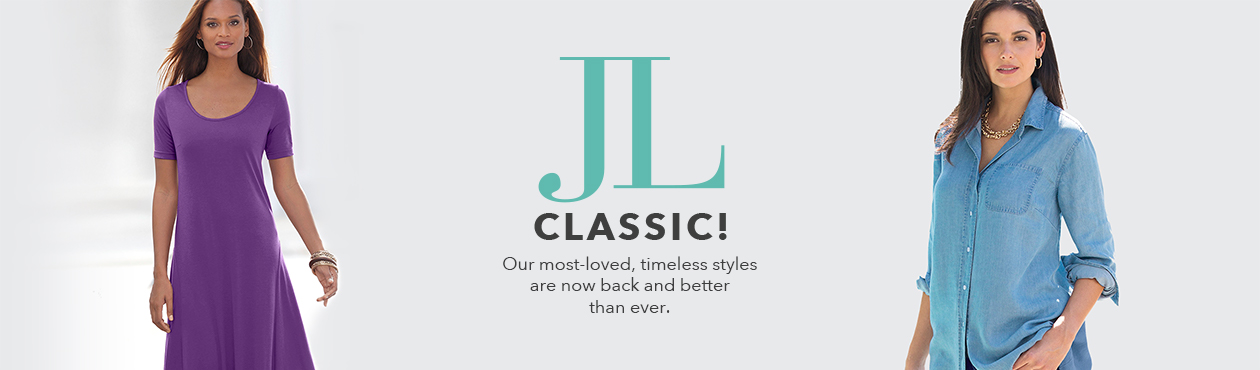 Jessica London Classics! - Our most loved, timeless styles are now back and better than ever.