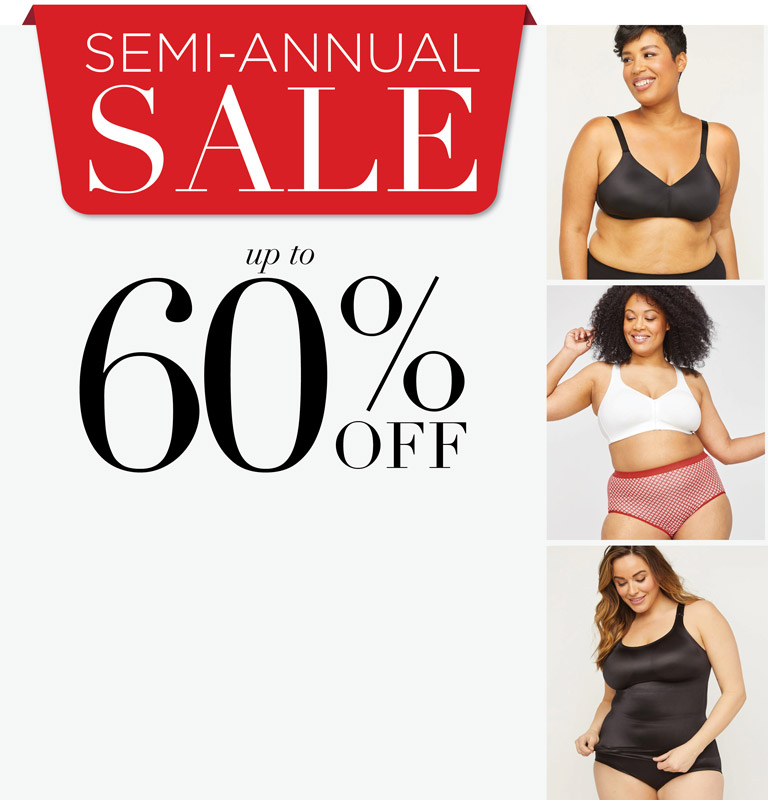 SEMI-ANNUAL SALE - up to 60% OFF